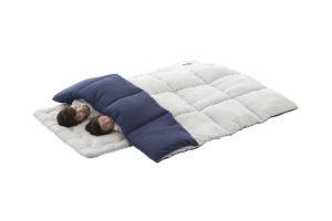 アウトドアでの寝袋使用はもう古い?これからはお布団です。